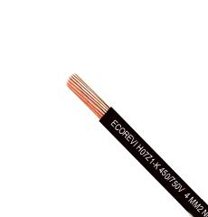 ECOREVI H07Z1-K 450 750V 4 MM2 14 NEGRO